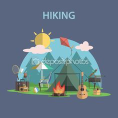 Hiking Stock Photos, Illustrations and Vector Art - Page 9 | Depositphotos®