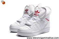 Sale Discount Adidas Attitude Logo Double Heart Tongue Shoes White Sports Shoes Store