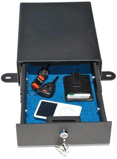 Locking Under Seat Storage Box