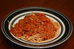 One Day At A Time - From My Kitchen To Yours: Roasted Garlic Spaghetti Sauce