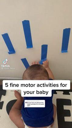 Baby Learning Activities, Infant Activities, Baby Sensory Play, Baby Play, Newborn Baby Tips, Baby Life Hacks, Baby Information, Diy Bebe, Baby Development