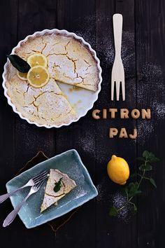 : : Recept på en god citronpaj   Helt enkelt : :