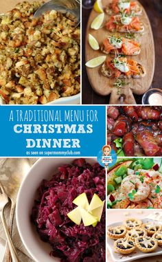 If you want to cook a traditional Christmas dinner menu this year check out this post which has all the recipes you need!
