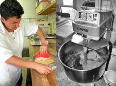 Bäckermeisterin Karmen Kron ist in der kleinen Backstube die rechte Hand von Helmut Ruß. Bäckerei Ruß in Guldental an der Nahe. #MoToLogie #Brot #Backkultur