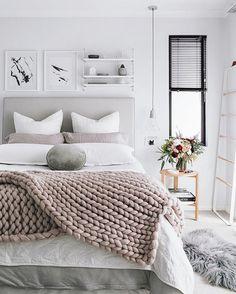 DIY Inspiration | Chunky Wool Knit Blanket