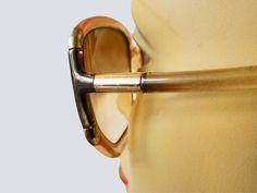 vintage Ted Lapidus iconische designer zonnebril 1970 Paris om te verzamelen of om te dragen door TresbeLLL op Etsy