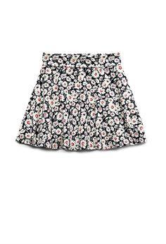 Wild Flower Skater Skirt (Kids) | FOREVER21 girls Flower power #Juniors #F21Girls #Floral