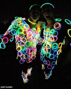 I know this is a bit over the top but glow sticks are essential for the silent disco!! #2000treats #2000treeskit