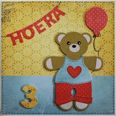 Marjoleine's blog: Berenkaarten met letter-slingers maken tijdens de aanschuifworkshop van 16 en 17 januari 2015.