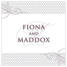 Contemporary Vintage Engraved Personalized Acrylic Block Cake Topper
