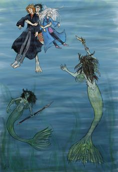 MERPERSON Harry has sprouted fritters. My illustration for the Harry Potter Art Project. I was assigned chapter 26 of The Goblet Of Fire - 'The Second Task'. Lucky Harry, lugging two unconscious pe. Harry Potter Sketch, Arte Do Harry Potter, Harry Potter Drawings, Harry James Potter, Harry Potter Facts, Harry Potter Movies, Severus Snape, Harry Potter Goblet, Saga