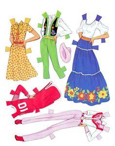 Paper Dolls~Sunsational Barbie - Bonnie Jones - Picasa 웹앨범