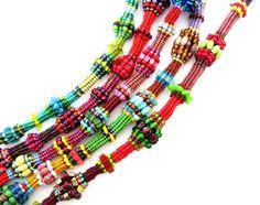 Beading pattern/ beading tutorial for seed beadweaving beaded necklace- Hidden Herringbone