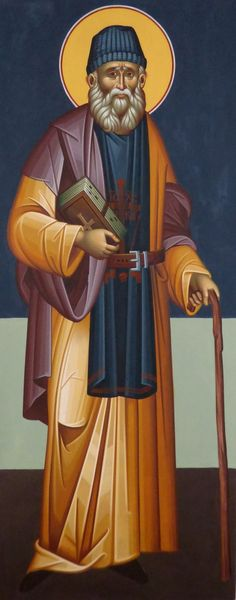 St Paisios of Mt. Byzantine Icons, Byzantine Art, Roman Church, Roman Soldiers, Religious Images, Orthodox Christianity, Orthodox Icons, Sacred Art, Kirchen