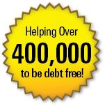 We've helped over 400,000 people become debt free!!!
