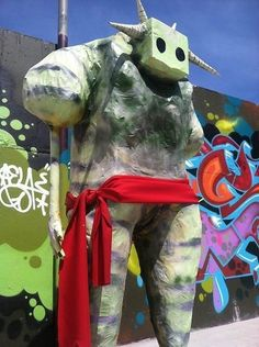 Papier-mâché street art in Bushwick   Socialart   Scoop.it