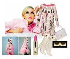 """Boots ! 1960's vintage"" by shistyle ❤ liked on Polyvore featuring Marc Jacobs, RED Valentino, Gucci, Illamasqua, Guerlain, vintage, Boots and twiggy"