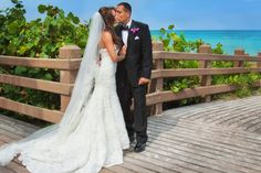 A colorful beach shot by Jesse Hernandez Photography. More here: http://snapknot.com/wedding-photographer/4475-Jesse-Hernandez-Photography
