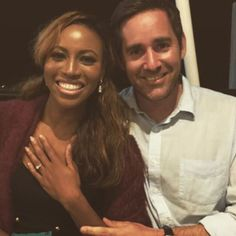 CNN Anchor & Chiwetel Ejiofor's sister Zain Asher is engaged (photo)…