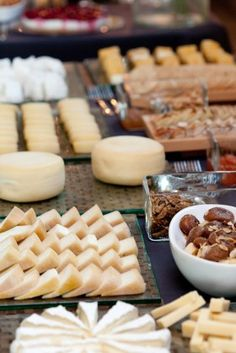 Cheese table. Done and done!