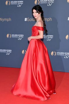 Jacqueline MacInnes Wood Photos Photos - Jacqueline MAcInnes Wood attends the Closing ceremony of the Monte Carlo TV Festival on June 2017 in Monte-Carlo, Monaco. Heather Tom, Jacqueline Macinnes Wood, Canadian Actresses, Photo On Wood, Awards, Singer, Monte Carlo, Formal Dresses, Monaco