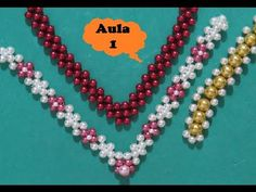 Joanne Archambault shared a video Beaded Bracelet Patterns, Beading Patterns, Beaded Bracelets, Seed Bead Jewelry, Beaded Jewelry, Handmade Jewelry, Decorating Flip Flops, Crochet Slippers, Paper Beads