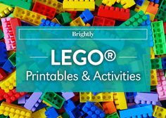 Everything is awesome! Especially when your kids are having fun with these LEGO printables!