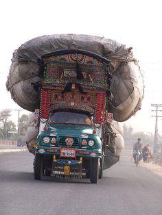 Overloaded. Pakistan