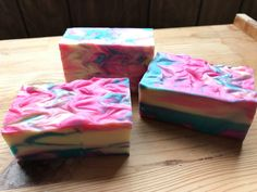 Mixed Berry Champagne Soap w/ Vitamin E - Hand Soap - Bar Soap - Antibacterial Soap - New Years Soap - Unique Gift  This handmade soap is a bright blue, pink and white energizing bar of soap. It has bright colors and a energetic scent that contains, yuzu, blueberry, lemon, apple, hints of green fig and a splash of champagne. This is what I call a perfect New Years Eve fragrance ... it is fresh and sparkling citrus and berries.  This bar contains a balanced mix of cleansing, moisturizing ...