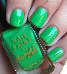I have 12 Barry M nail polishes, it's my fav brand with all the perfect colours like this!