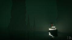 ArtStation - Low poly - sunless sea, Tim D'hoore