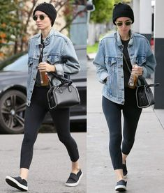 A bare-faced Rooney Mara was spotted carrying around a Stella McCartney Falabella box bag while heading to a hair appointment in Los Angeles. Stella Mccartney Bag, Stella Mccartney Falabella, Casual Outfits, Cute Outfits, Gym Outfits, Rooney Mara, Outfit Posts, Outfit Ideas, Unisex Fashion
