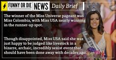 Funny Or Die News Daily Brief: Miss Universe
