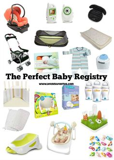 the perfect baby registry mom favorites