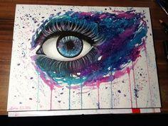 Galaxy Eye by DeadOceans.deviantart.com on @deviantART