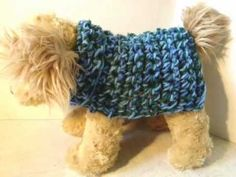 HOW TO CROCHET A DOGGIE COAT ANY SIZE.... I love this gal she's great with tutorials.