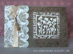 Cartão artesanal com emboss #pap #cardmaking #tutorial #DIY #papercraft