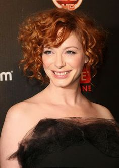 Women Curly Hair styles for Short Hair ~ Celebrity Hairstyles --potential next hair cut?