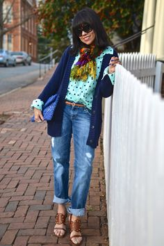 love this casual style from Carelia via you look fab