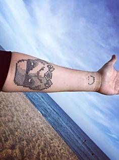 Cross Stitch Tattoos Prove That X Truly Marks the Spot -  #artist #EvaKrbdk #tattoos