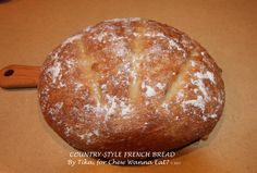 COUNTRY-STYLE FRENCH BREAD