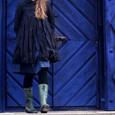 would like to make a coat like that... (from Malin Bohm blog)