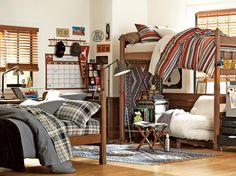 Dorm Room Decorating Ideas & Decor Essentials >> http://www.hgtv.com/design/decorating/design-101/20-chic-and-functional-dorm-room-decorating-ideas-pictures?soc=pinterest