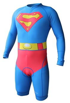 c932d7bec Superman Inspired Skinsuit Superman Cape