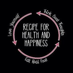 Recipe for Health and Happiness