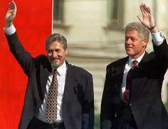 Bill Clinton, Emil Constantinescu