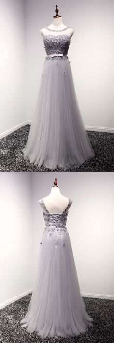 Only $149, Dusty Grey Backless Long Formal Dress With Floral Bodice #AKE18048 at #SheProm. SheProm is an online store with thousands of dresses, range from Prom,Formal,Party,Evening,Grey,A Line Dresses,Long Dresses,Customizable Dresses and so on. Not only selling formal dresses, more and more trendy dress styles will be updated daily to our store. With low price and high quality guaranteed, you will definitely like shopping from us. Shop now to get $10 off!