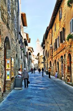 San Gimignano, Italy...