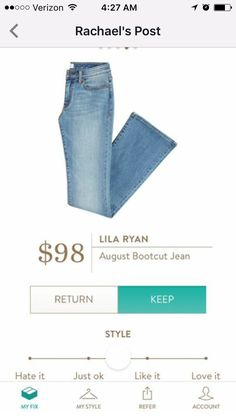 Jama, would like a jean no lighter than this, could go a little darker but not much