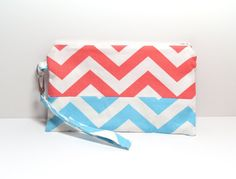 Cell Phone Wallet  Cotton Wristlet Purse  Wallet   by jayciMay, $20.00